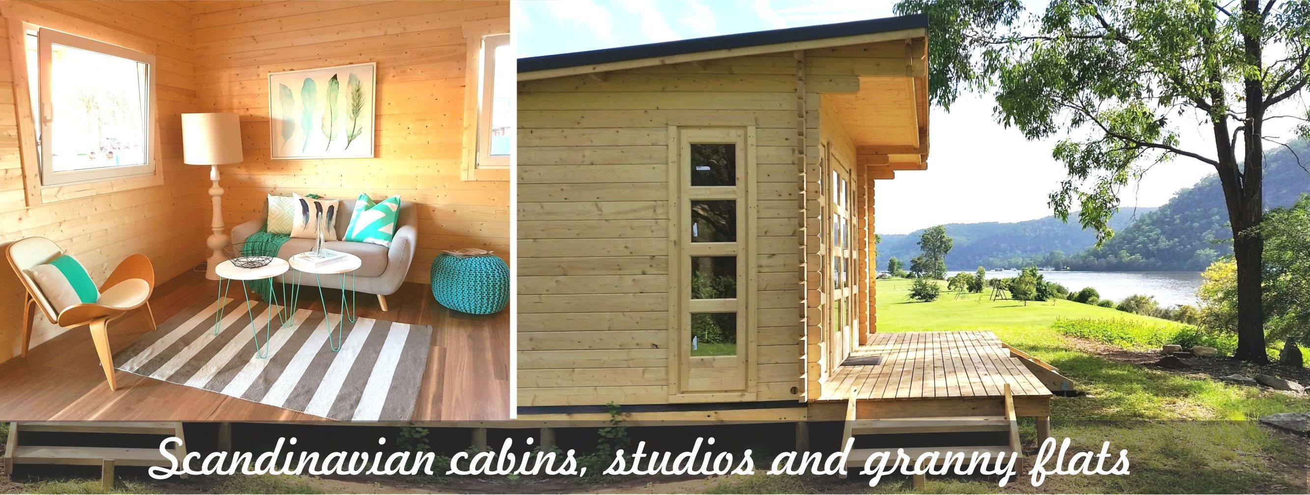 Yzy kit homes yzy backyard cabins and granny flats for Backyard cabins granny flats